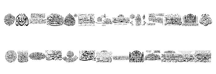 Aayat Quraan_034 Fonte MINÚSCULAS