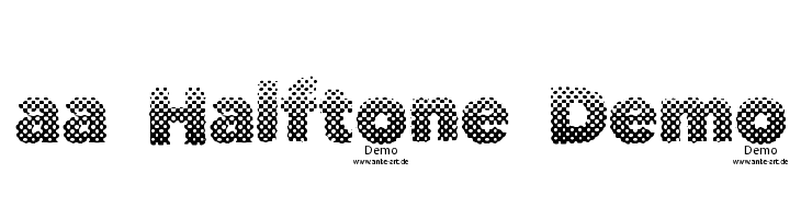 aa Halftone Demo  baixar fontes gratis