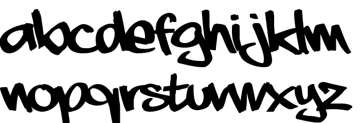 aaaiight! Font Litere mari