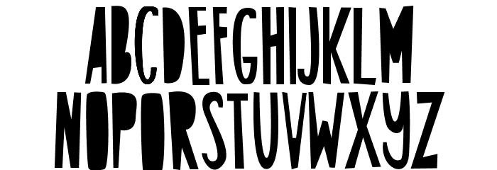 ABCFONT-HPLHS Шрифта ВЕРХНИЙ
