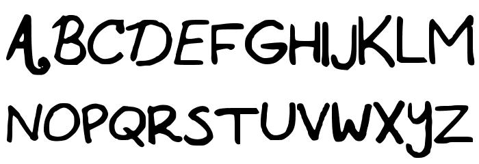 ABCP Schriftart Groß