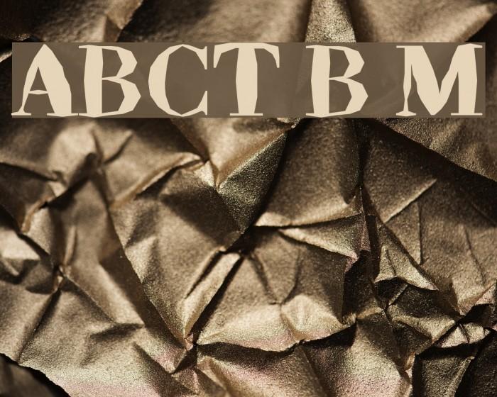 ABCTech Bodoni Mangle Font examples