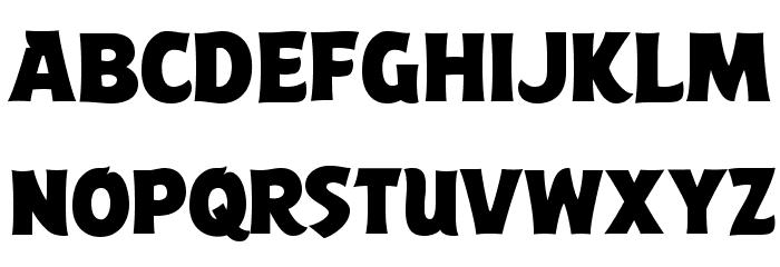ABFlockPoster Regular Шрифта строчной
