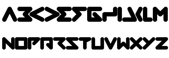ABSTRASCTIK फ़ॉन्ट अपरकेस