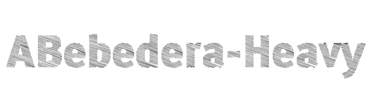 ABebedera-Heavy  Free Fonts Download