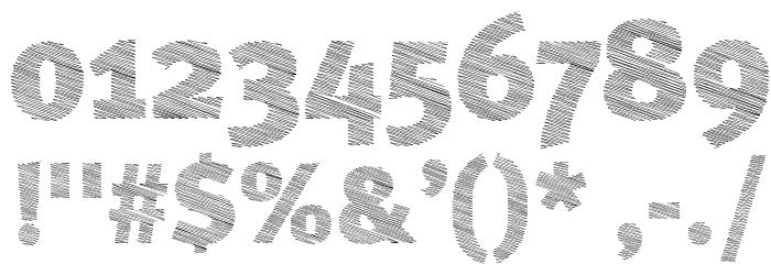 ABebedera-Heavy Шрифта ДРУГИЕ символов