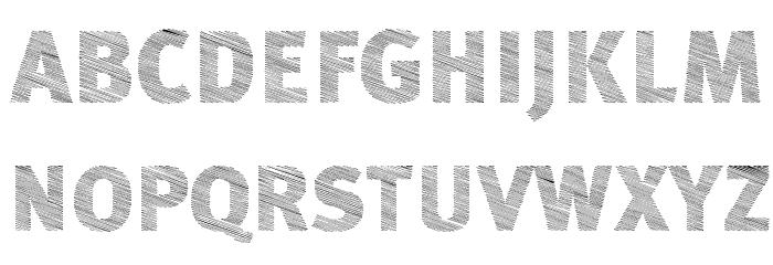 ABebedera-Heavy Font Litere mari