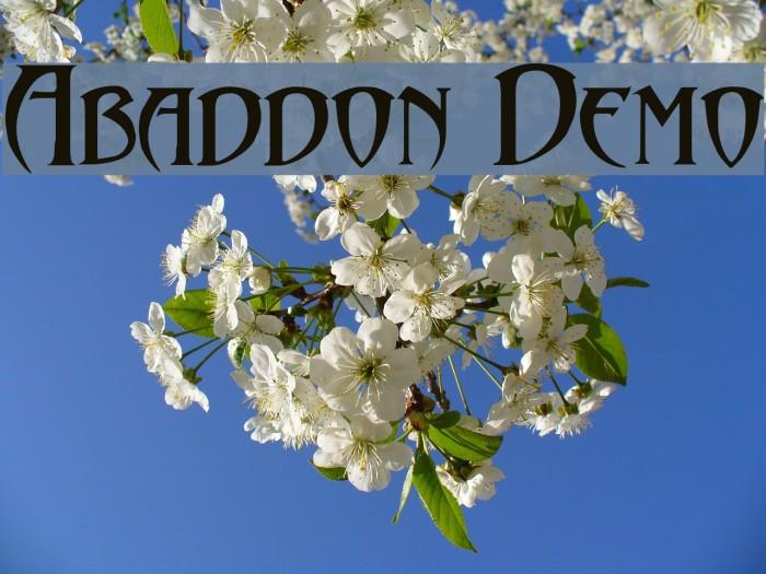 Abaddon Demo لخطوط تنزيل examples
