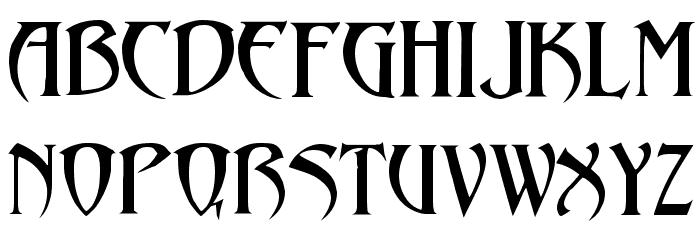 Abaddon!` لخطوط تنزيل الأحرف الكبيرة