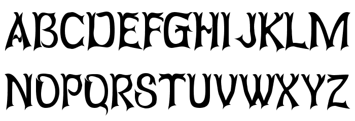 Abagail Regular Font Litere mari