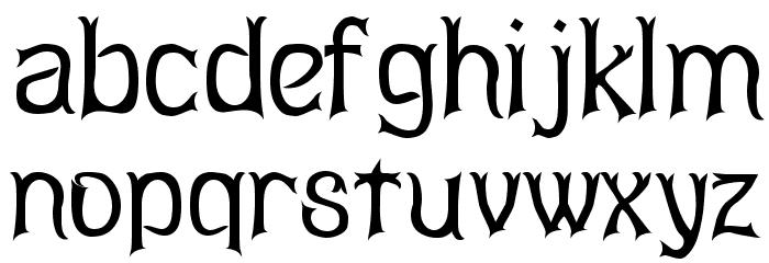 Abagail Regular Font Litere mici