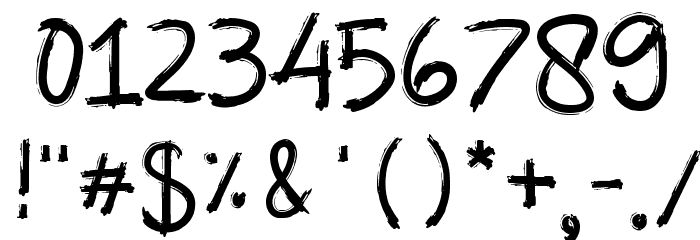 Abalone لخطوط تنزيل حرف أخرى