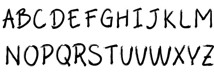 Abalone لخطوط تنزيل الأحرف الكبيرة