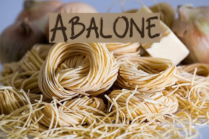 Abalone لخطوط تنزيل examples