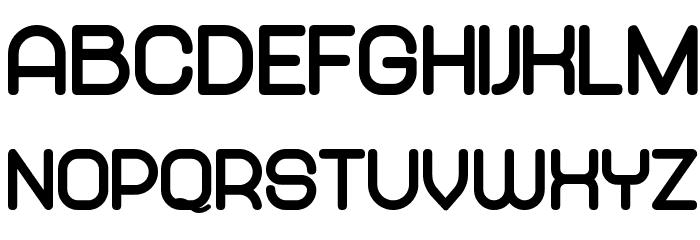 Abandoned Black لخطوط تنزيل الأحرف الكبيرة