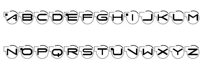 AbcariFond Font UPPERCASE
