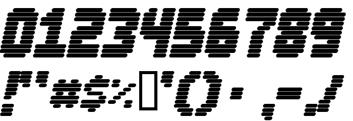 Abduction2000 Font OTHER CHARS