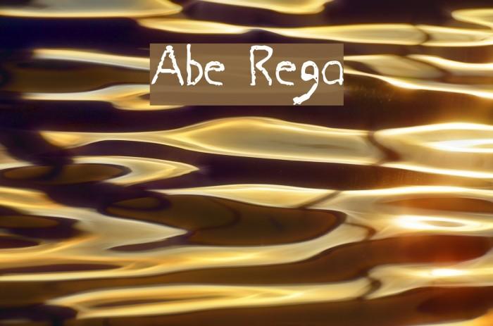 Abe Regular फ़ॉन्ट examples