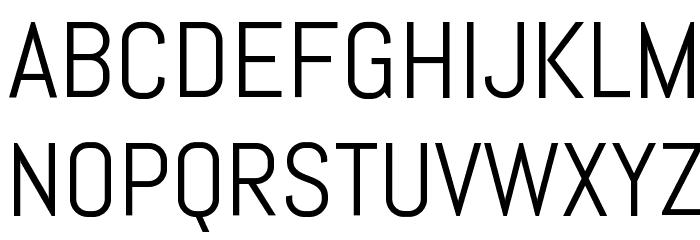Abel-Regular Font UPPERCASE