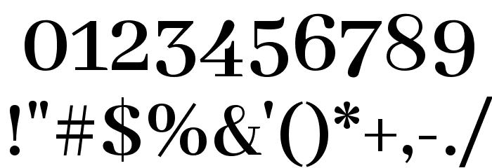 Abhaya Libre SemiBold Font OTHER CHARS