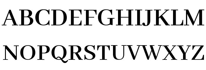 Abhaya Libre SemiBold Font UPPERCASE