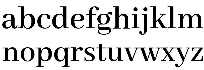 Abhaya Libre SemiBold Font LOWERCASE