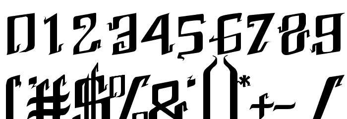 Abhinaya Regular Шрифта ДРУГИЕ символов
