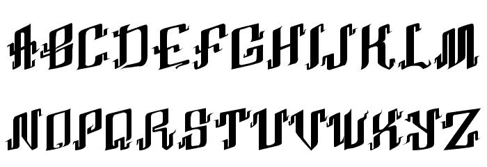 Abhinaya Regular Шрифта ВЕРХНИЙ