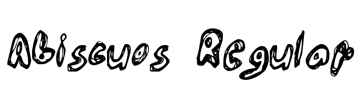 Abiscuos Regular  Free Fonts Download