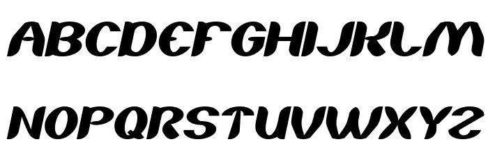 About you Italic Font UPPERCASE