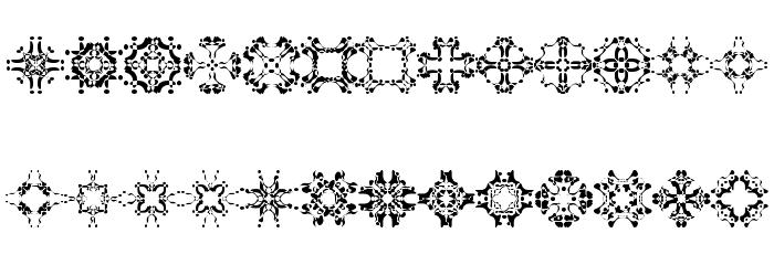 Abracadabra1 Шрифта строчной