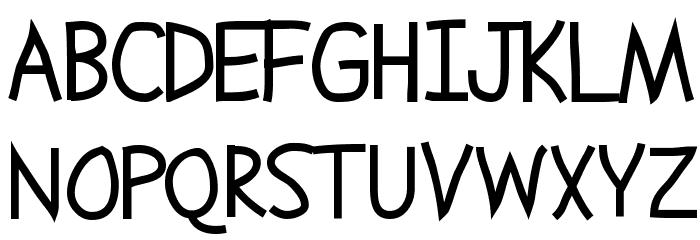 Abscissa फ़ॉन्ट अपरकेस