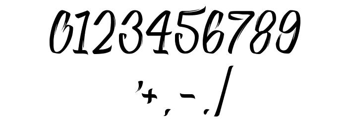 Absolute Шрифта ДРУГИЕ символов