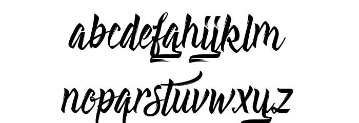 Absolute Шрифта строчной