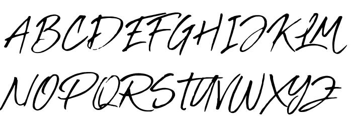 Abuget Font UPPERCASE