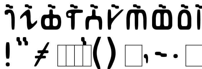 Abur Font OTHER CHARS