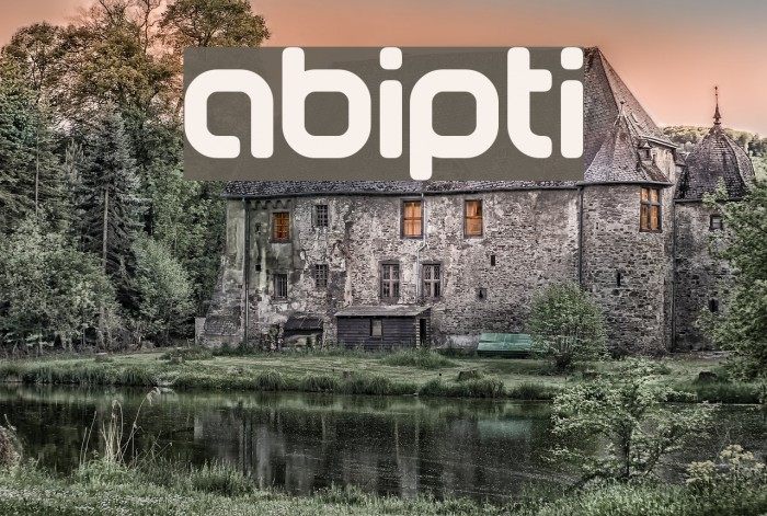 abipti Font examples