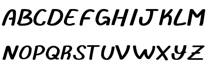 abrila フォント 大文字