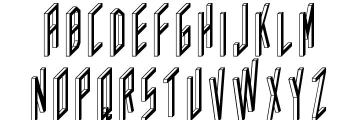AC Framed Inverted Шрифта ВЕРХНИЙ