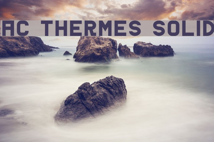 AC Thermes Solid Fonte examples