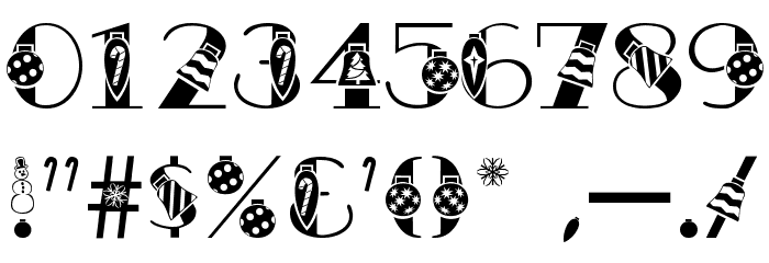 AC1 Ornament Font OTHER CHARS