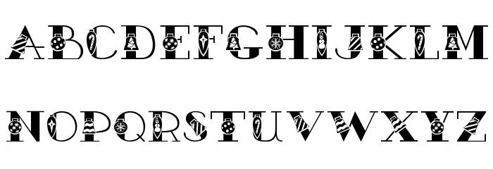 AC1 Ornament Font UPPERCASE