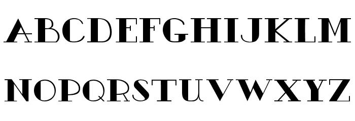 AC1 Ornament Font LOWERCASE
