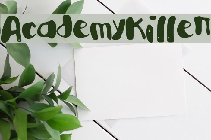 AcademyKiller Fonte examples