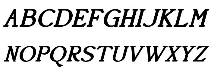AccanthisADFStdNo3-BoldItalic Fonte MAIÚSCULAS