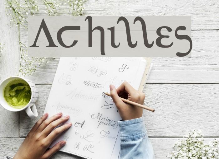 Achilles Fonte examples
