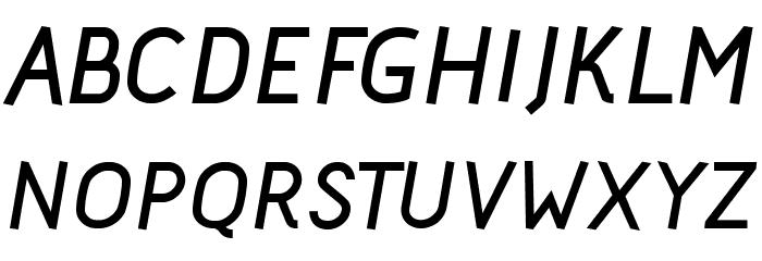Acid Bold Italic Font Litere mari