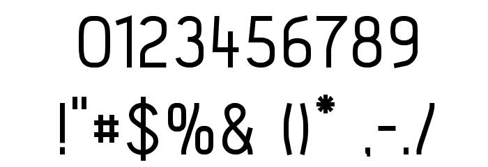 Acid-Medium フォント その他の文字