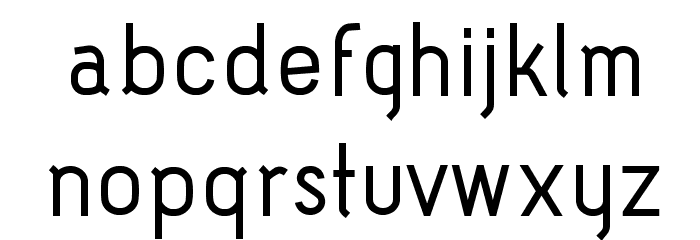 Acid-Medium フォント 小文字