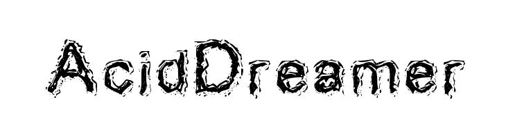 AcidDreamer  Скачать бесплатные шрифты